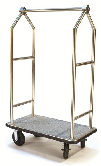 CSL Triangular Top Bellman Cart-Steel/Grey