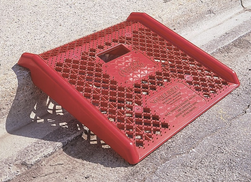 Coca-Cola Plastic Curb Ramp