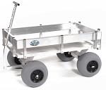 Extra Large Aluminum Beach and Fishing Cart