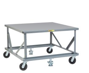 Fixed Height Mobile Pallet Stand
