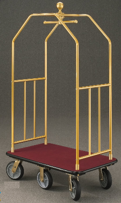 Glaro Value Bellman cart with Ball Top