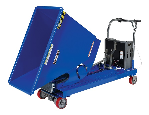 Electric Power Drive Dump Hopper