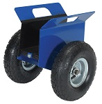 Plate and Slab Panel Cart with Pneumatic Tires
