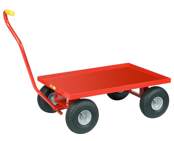 Little Giant Lip-Up Steel Deck Wagon Truck