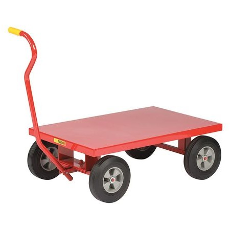 Little Giant Flush Steel Deck Wagon Truck