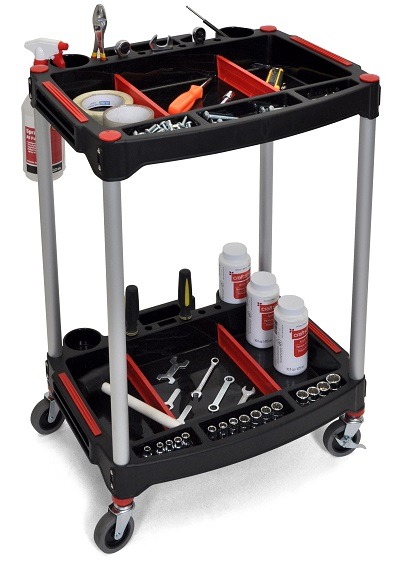 mechanic and workshop rolling cart