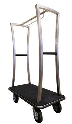 Modern & Sleek Stainless Steel Bell Cart