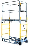 "Electric Powered Scaffold - 60"" High"