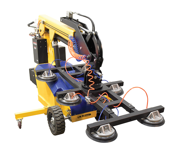 Electric-Powered Mobile Vacuum Lifter with Rough Terrain Wheels