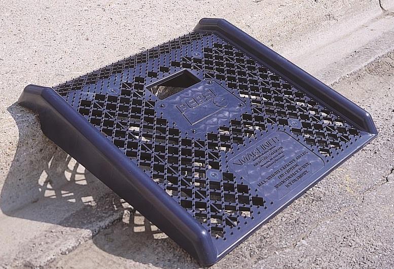 Pepsi-Cola Plastic Curb Ramp