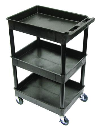 Tub Shelf Utility Cart