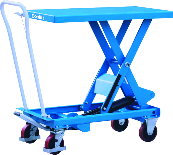 "1540 lb Capacity Scissor Lift Table - 40"" Raised Height"