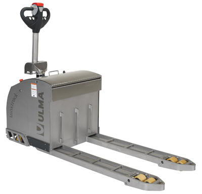 """27"""" x 44"""" Stainless Steel Electric Pallet Truck"""