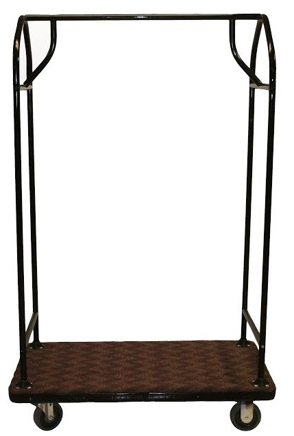 All Weather Bellman Cart with Plastic Deck