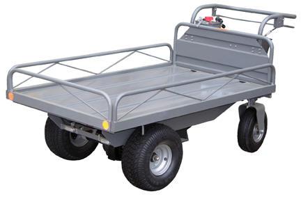 Rough terrain motorized cart for Motorized hand truck dolly