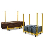 Stackable Table or Chair Cart