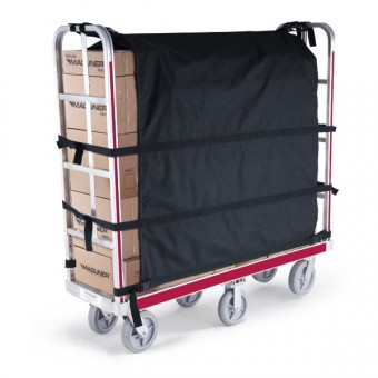 Containment Curtain For Magliner Stocking Carts