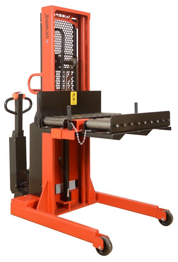 Custom Die Electric Stacker with Side Loading Transfer Conveyor