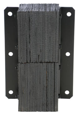 11 Inch Wide Laminated Loading Dock Bumper