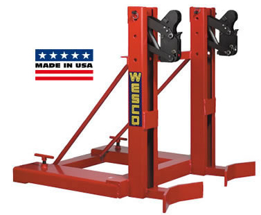 Dual Drum Lift Attachment for Forklift Truck