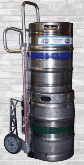 Double Barrel Keg Hand Truck