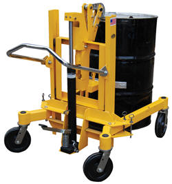 Drum Transporter and Lift - Foot Pump