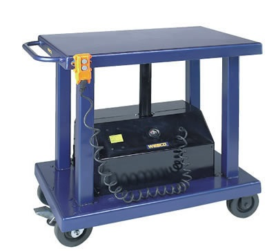 "4000lb, 32"" x 48"" Electric Battery Power Lift Table"