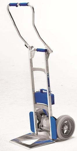 Fold handle wesco sal powered liftkar on sale free for Motorized stair climbing dolly