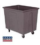 8 Bushel 64 Gal. Plastic Box Cart