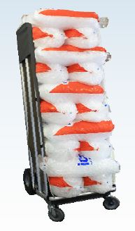 Bagged Ice Delivery Cart