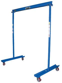 1000lb Capacity Portable Work Area Gantry Crane