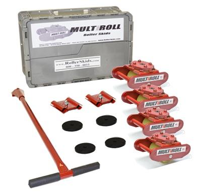 MultiRoll Mark 1P 10,000lb Machine Roller Kit