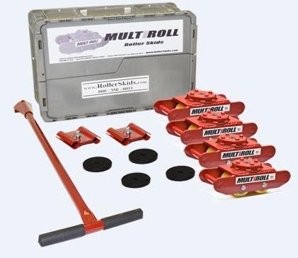 MultiRoll Mark 2P 20,000lb Machine Roller Kit
