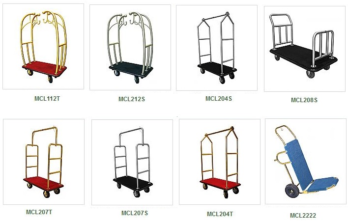 Replacement Wheels For Monarch Hotel Bellman Carts