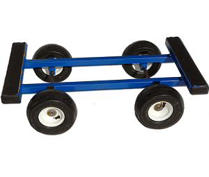 4 Wheel Pneumatic Tires All Terrain Dolly