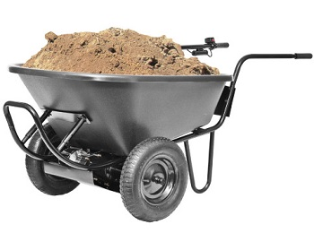 Light Duty Electric Wheelbarrow 200lb Capacity