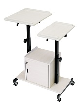 Economy Presentation Cart with Cabinet