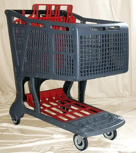 All Plastic Shopping Cart