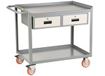 Little Giant Utility Cart with 1 or 2 Drawers