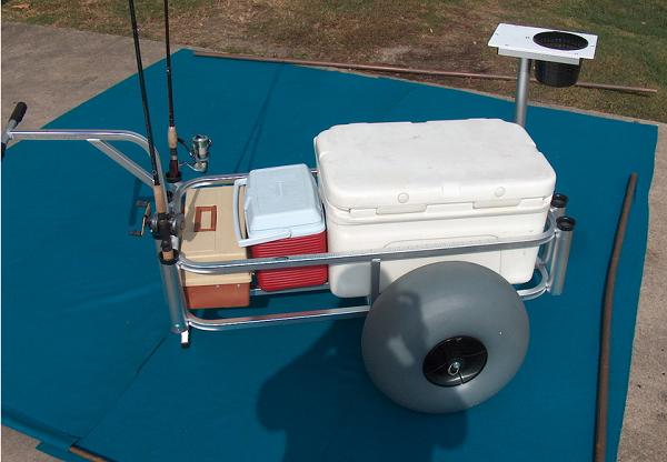 Fish-N-Mate Senior Fishing Cart with Beach Tires