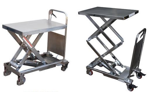 Awesome Stainless Steel Scissor Lift Table For Wet Areas   Reviews