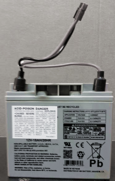 Replacement Battery For Escalera Hand Truck