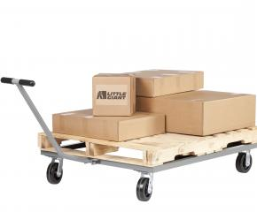 Little Giant Steel Pallet Dollies with T-Handle