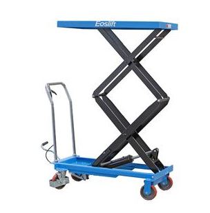 Dual Scissor Table Lift Cart