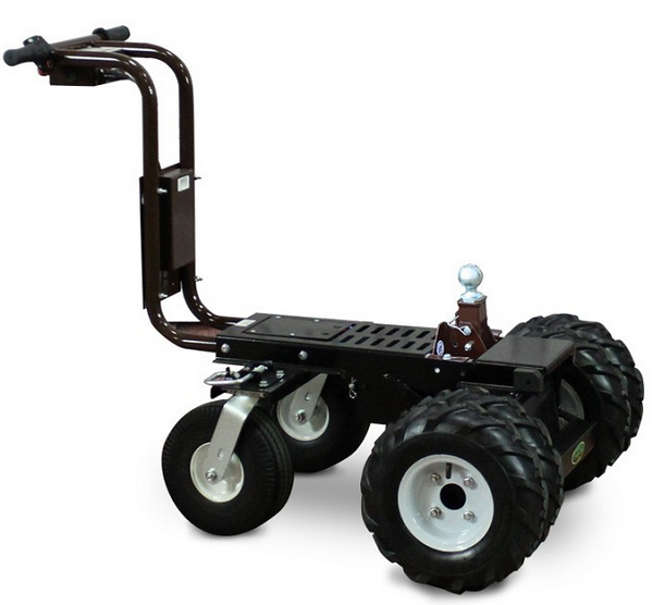 battery powered trailer dolly tugger cart 2500lb capacity