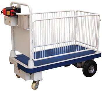 Vestil Battery Powered Platform Cart Free Shipping
