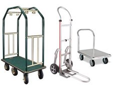 Build Your own hand truck or cart category