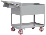 "12"" Deep 2 Shelf Order Picking Cart thumb"