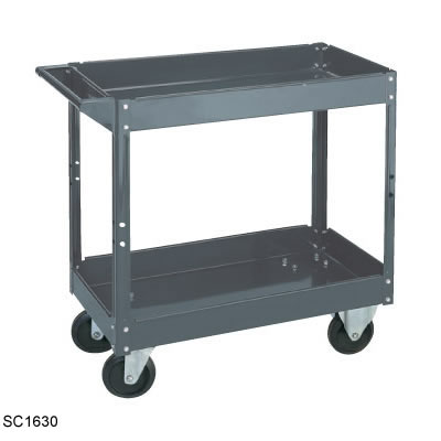 Large Steel Utility Cart thumb