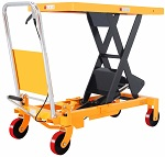 "1760 lbs Capacity Manual Single Scissor Lift Table - 39.4"" Lift thumb"